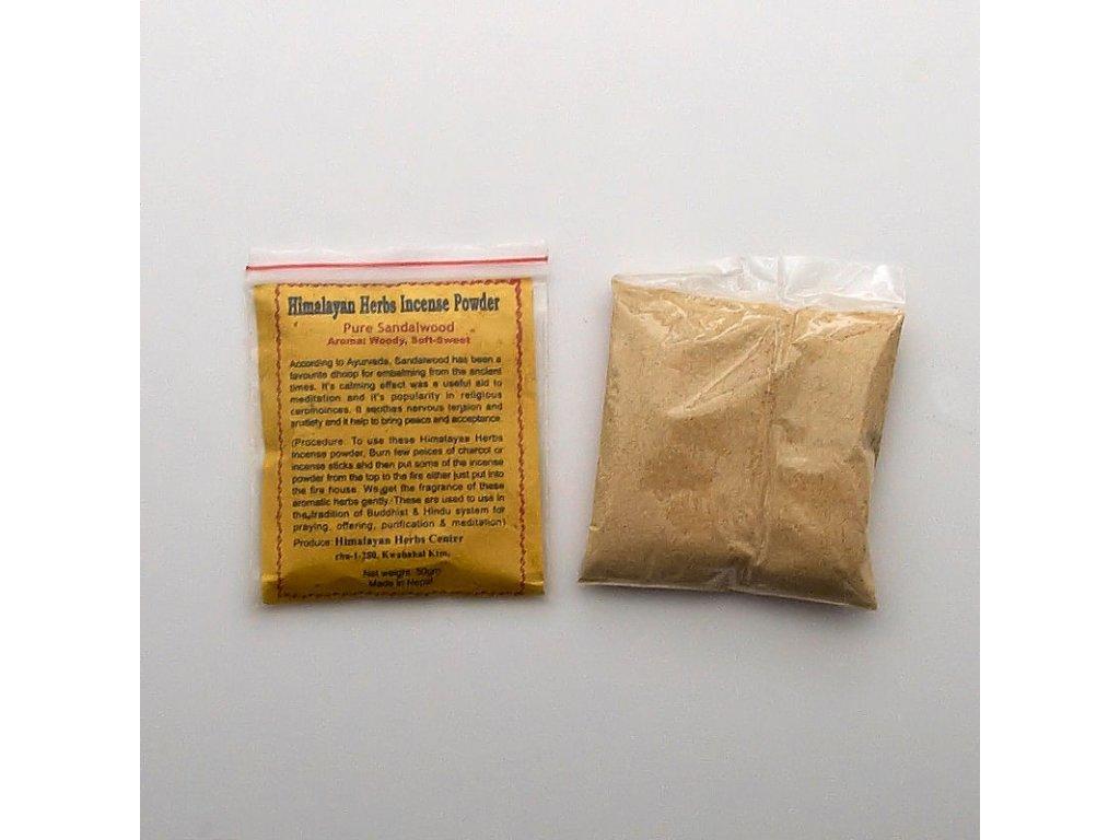 Vykuřovadlo - Tibet Sandalwood 50 g
