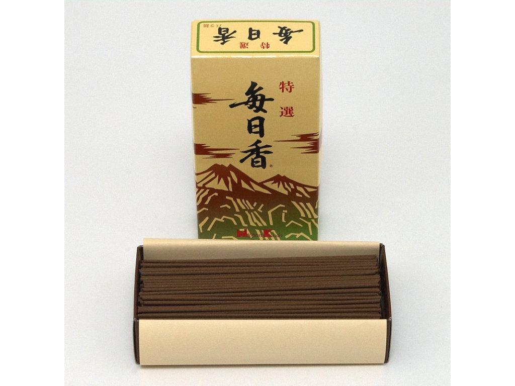 Japonské vonné tyčinky Nippon Mainichi-koh Aloeswood 300 ks
