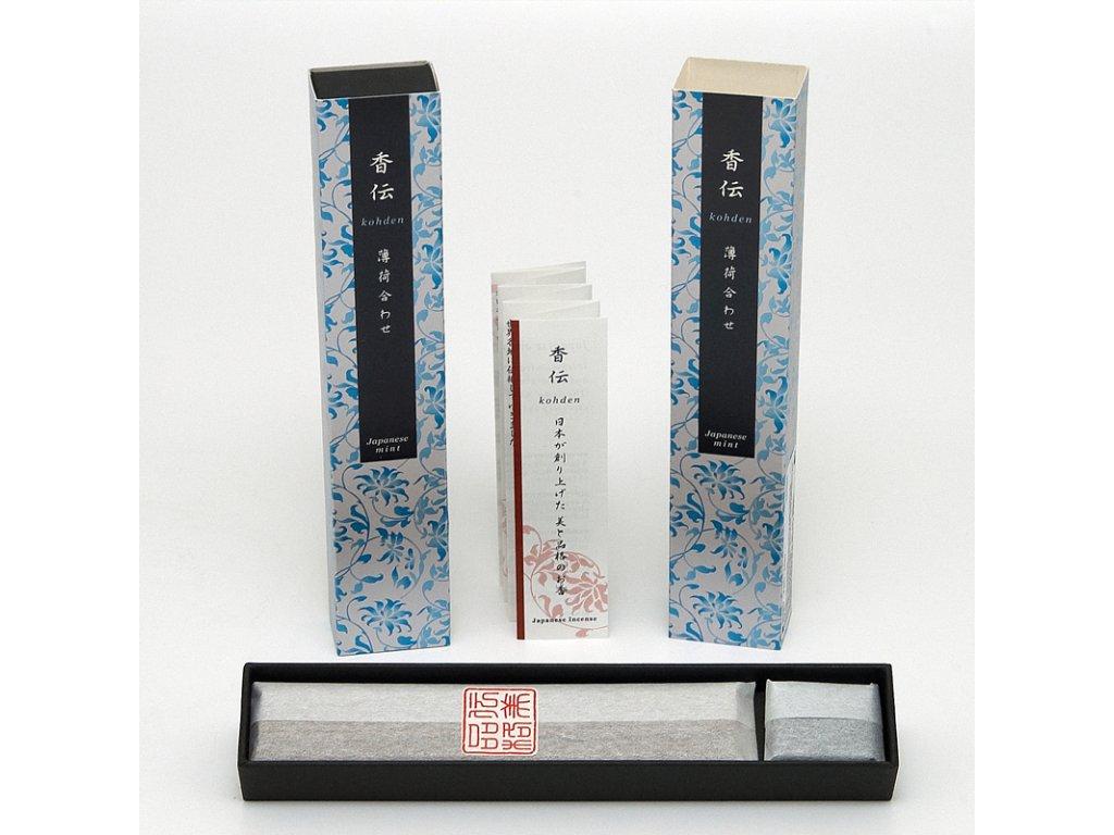 Japonské vonné tyčinky Nippon KOHDEN Japanese mint