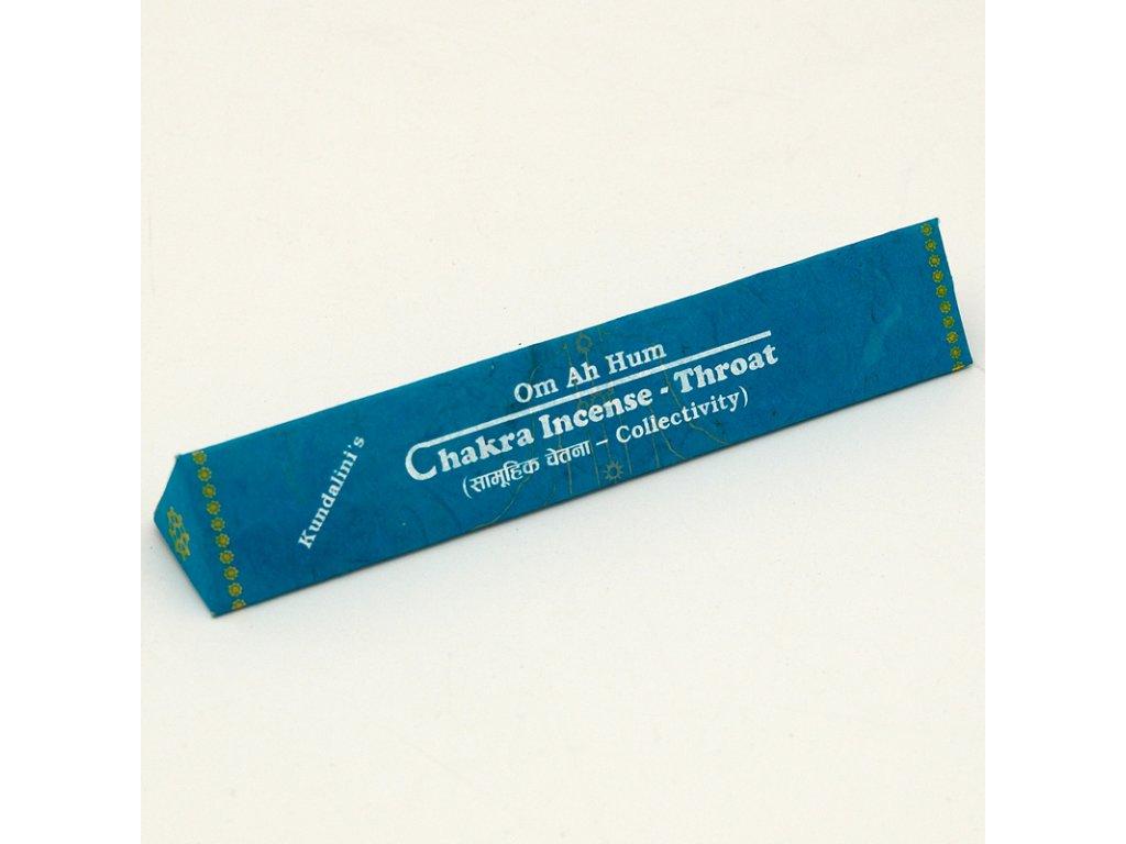 Tibetské vonné tyčinky Chakra Incense - Throat
