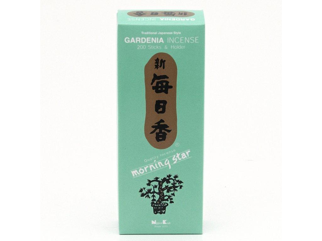 Japonské vonné tyčinky Nippon M/S 200 ks Gardenia