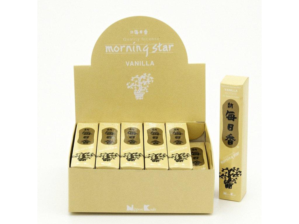 Japonské vonné tyčinky Nippon M/S 50 ks Vanilla