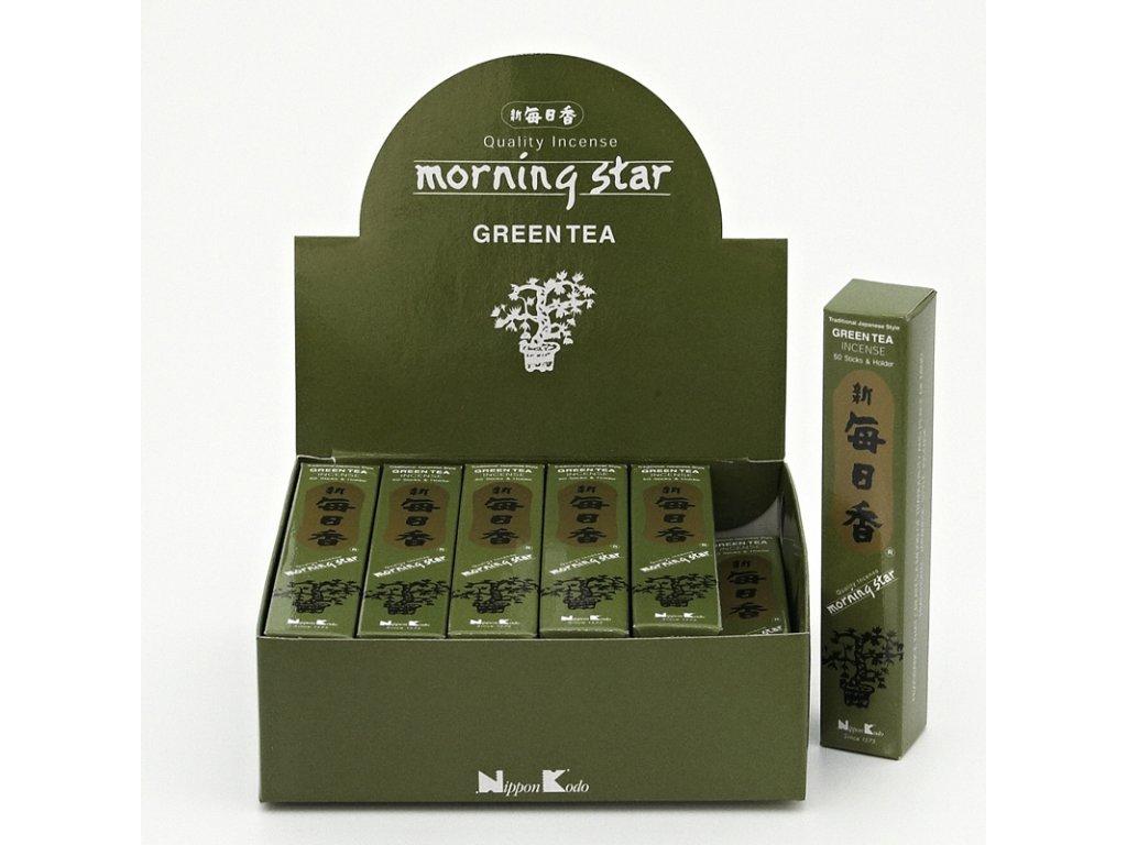 Japonské vonné tyčinky Nippon M/S 50 ks Green Tea