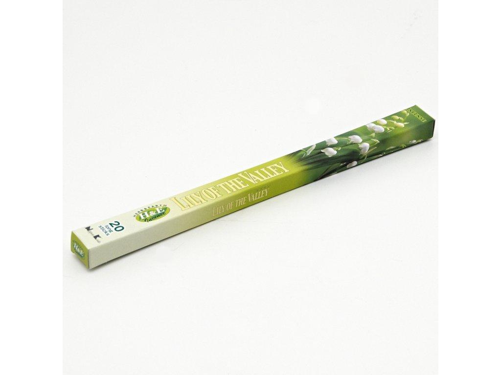 Japonské vonné tyčinky Nippon H&E Lily of the Valley