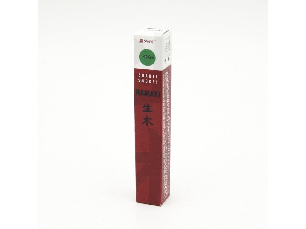 Japonské vonné tyčinky Namaki Sage