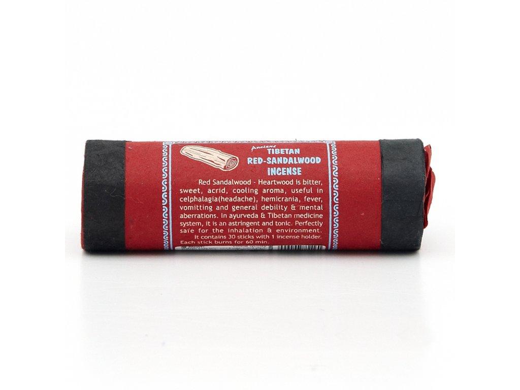Tibetské vonné tyčinky Ancient Red-Sandalwood