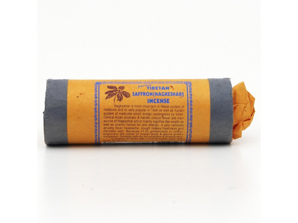 Tibetské vonné tyčinky Ancient Saffron