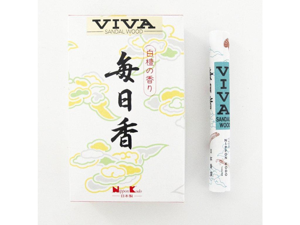 Japonské vonné tyčinky Nippon Viva Mainichi-koh Sandal