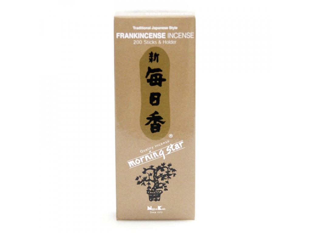 Japonské vonné tyčinky Nippon M/S 200 ks Frankincense