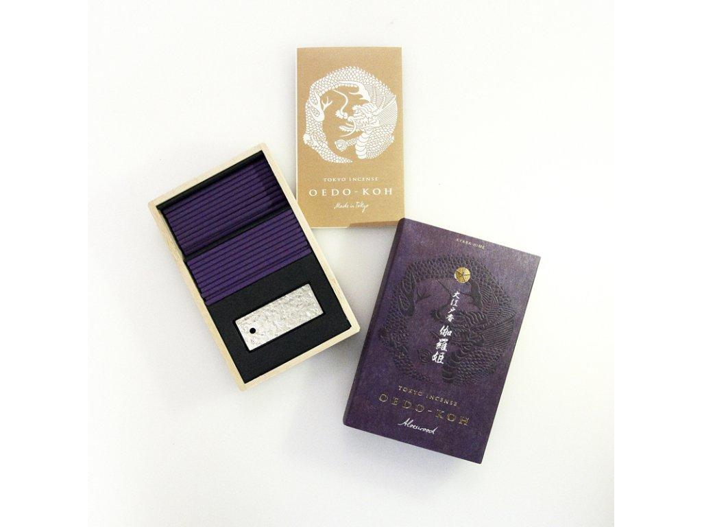 Japonské vonné tyčinky Nippon Oedo-Koh Aloeswood