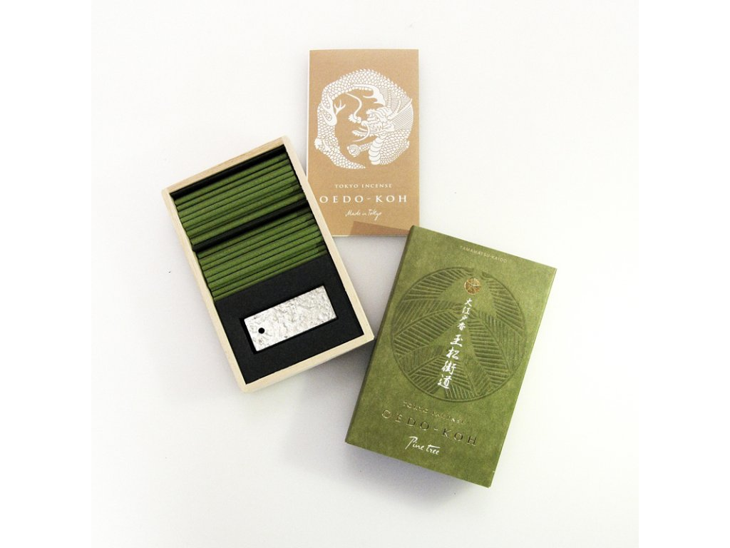 Japonské vonné tyčinky Nippon Oedo-Koh Pine Tree