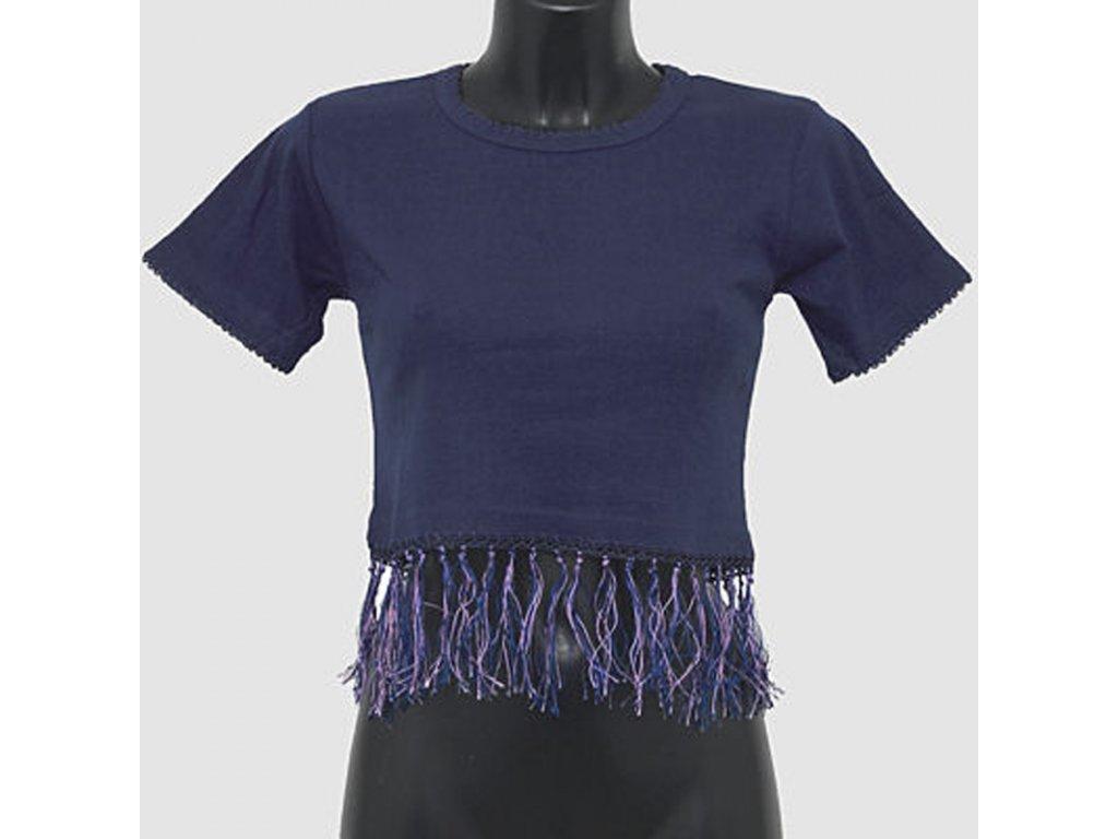 Tričko dámské na břišní tanec