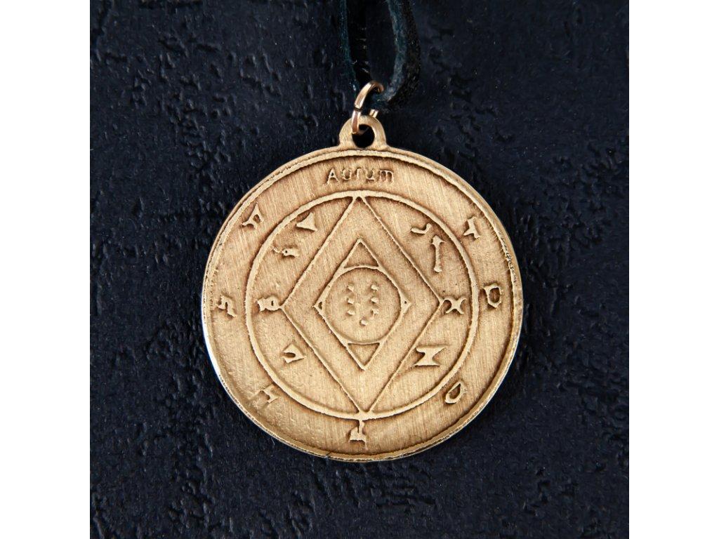 Amulet Symbol 04 Šalomounův pantakl bohatství