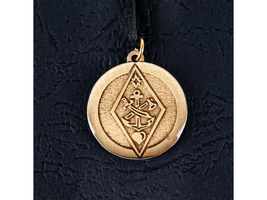 Amulet Symbol 05 Štít prozřetelnosti