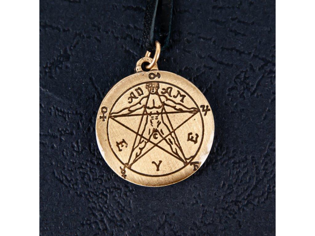 Amulet Symbol 13 Agrippův pentagram