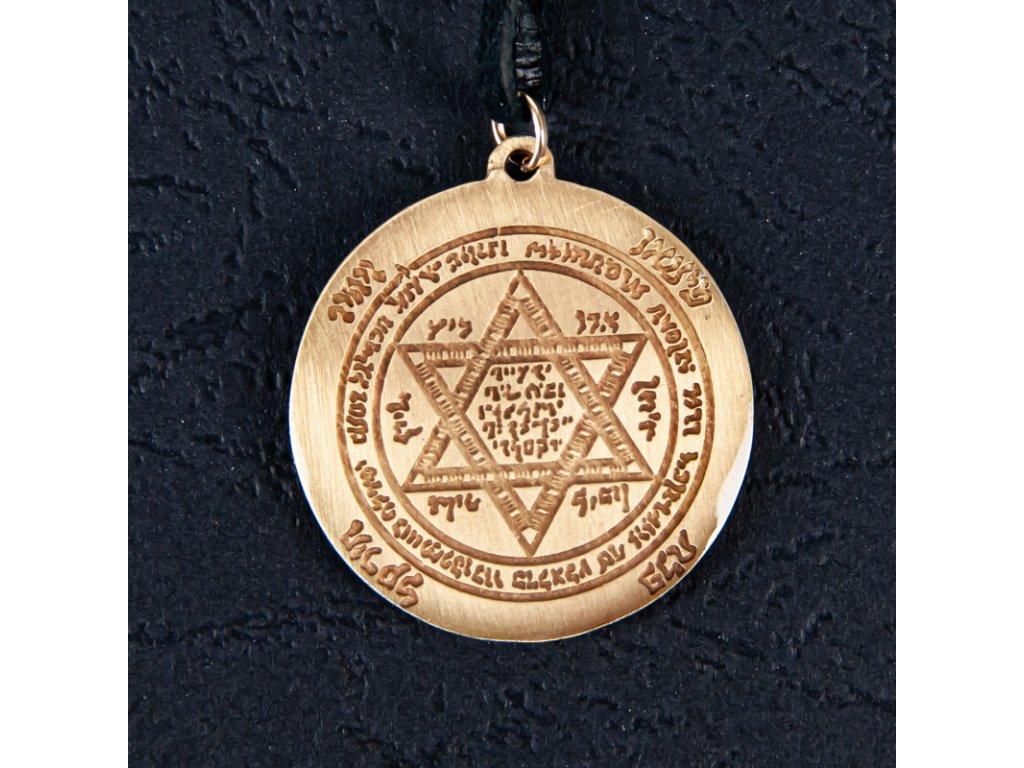 Amulet Symbol 25 Šalamounův štít