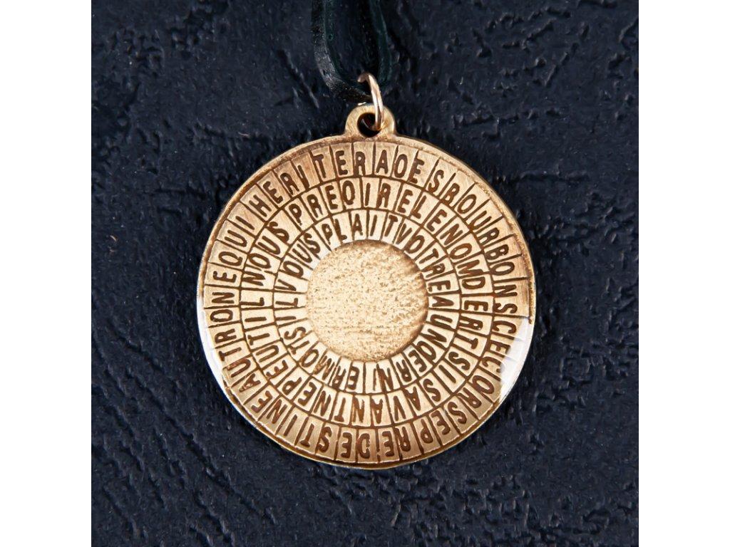 Amulet Symbol 26 Tajemný kód Caligostry