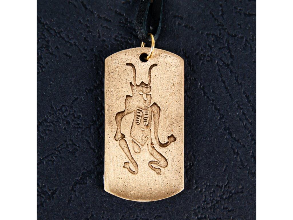 Amulet Symbol 33 Čínský ochranný duch