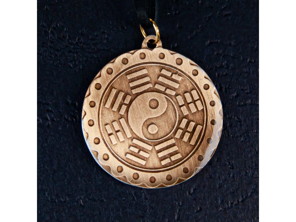Amulet Symbol 35 Jin-jang s osmi triagramy