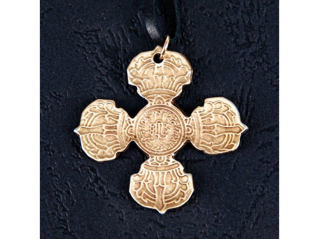 Amulet Symbol 40 Zkřížená vadžra