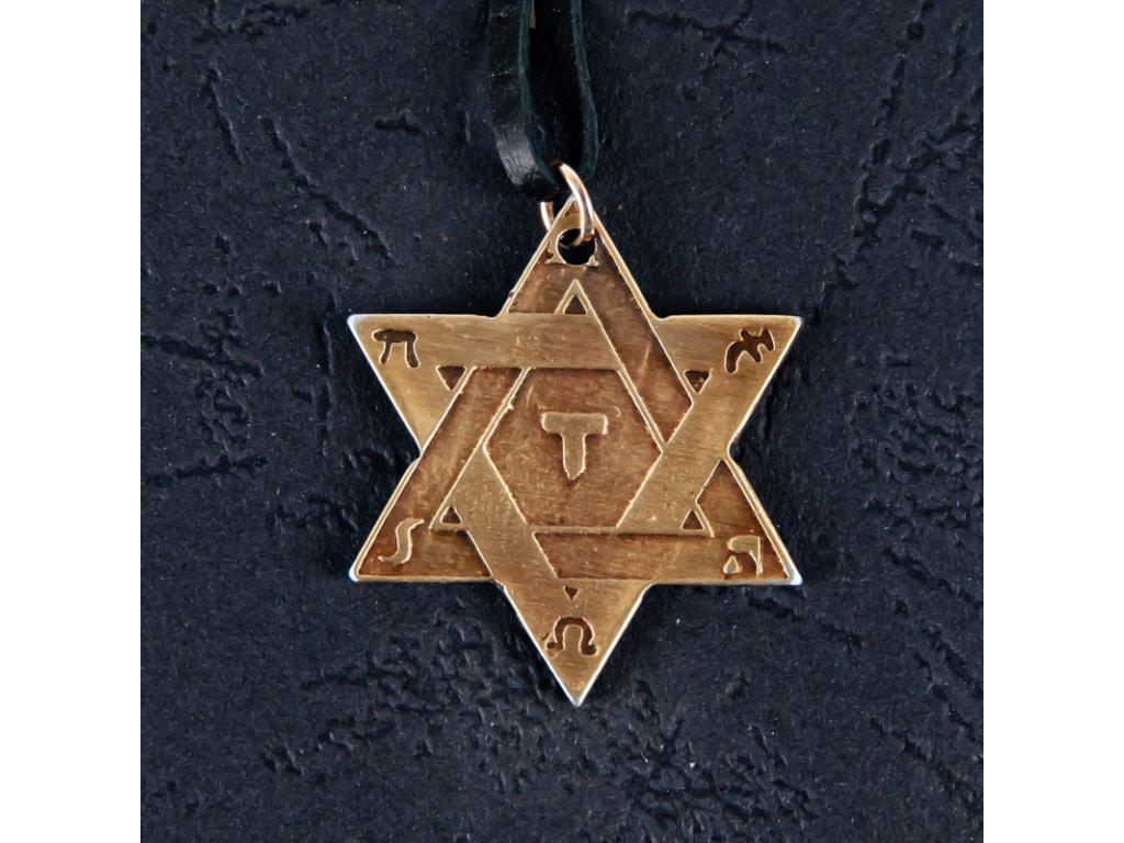 Amulet Symbol 41 Šalamounův symbol