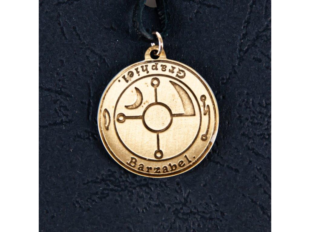 Amulet Symbol 47 Kabalistický štít