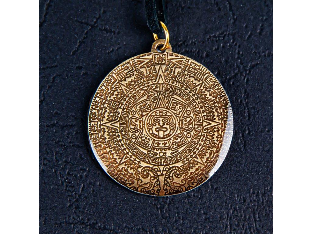 Amulet Symbol 49 Aztécký kalendář