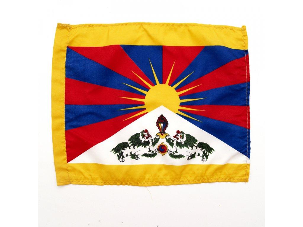 Tibetská vlajka 26 x 33 cm
