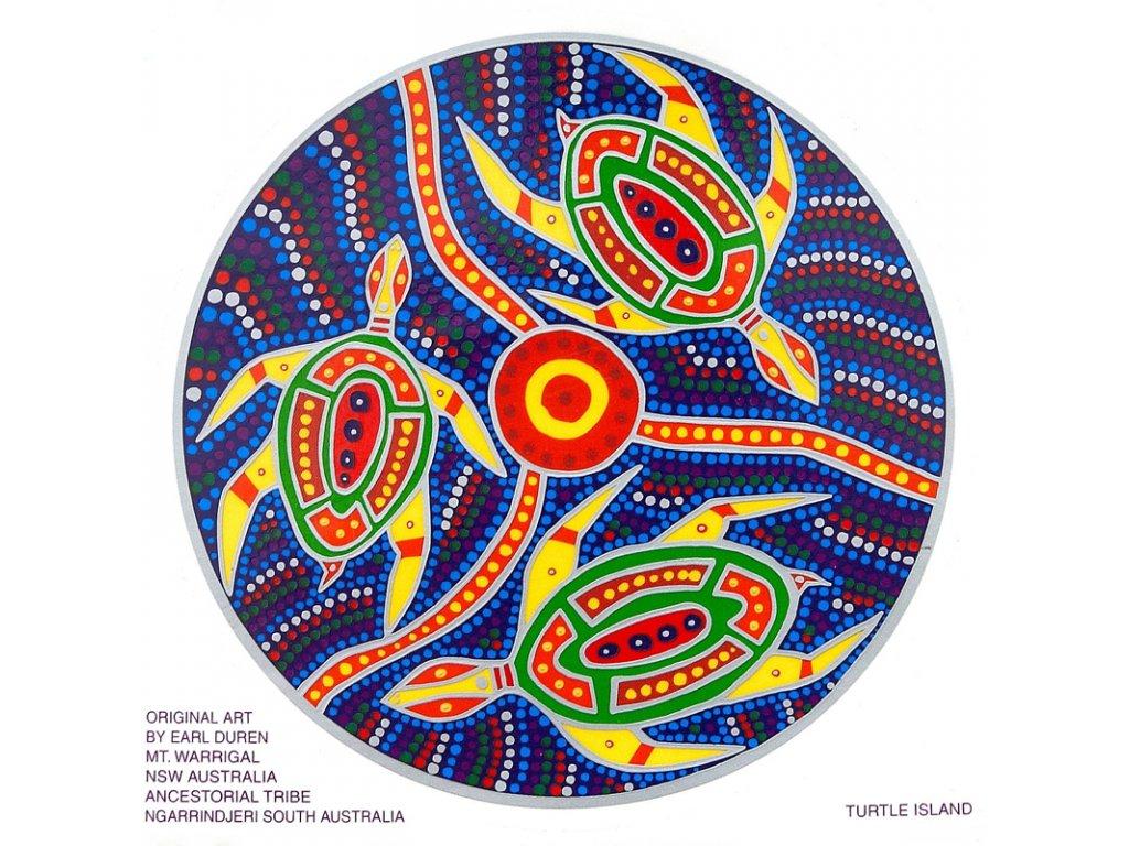 Mandala Sunseal V Turtle Island