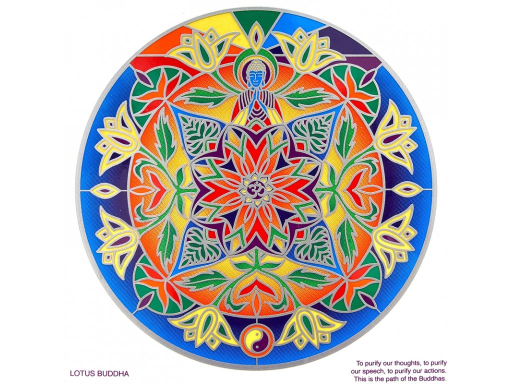 Mandala Sunseal V Lotus Buddha