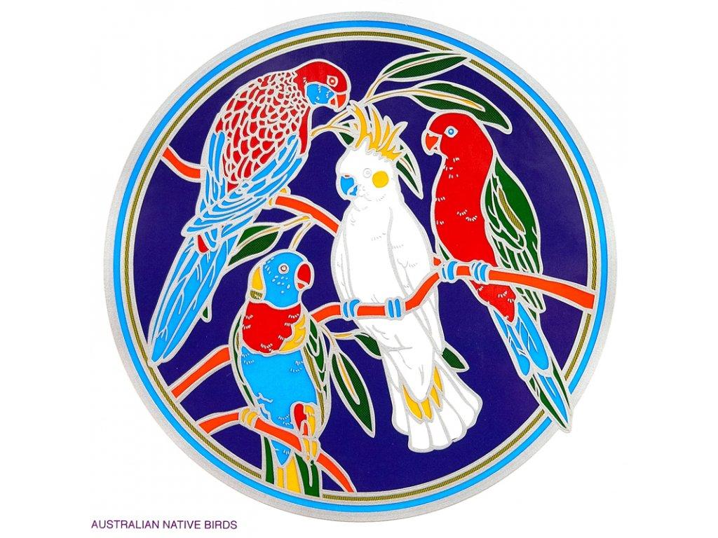 Mandala Sunseal V Australian Native Birds