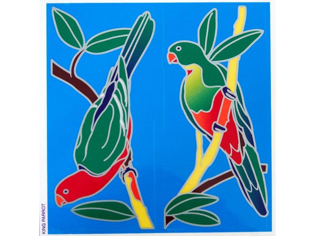 Mandala Sunseal V King Parrot