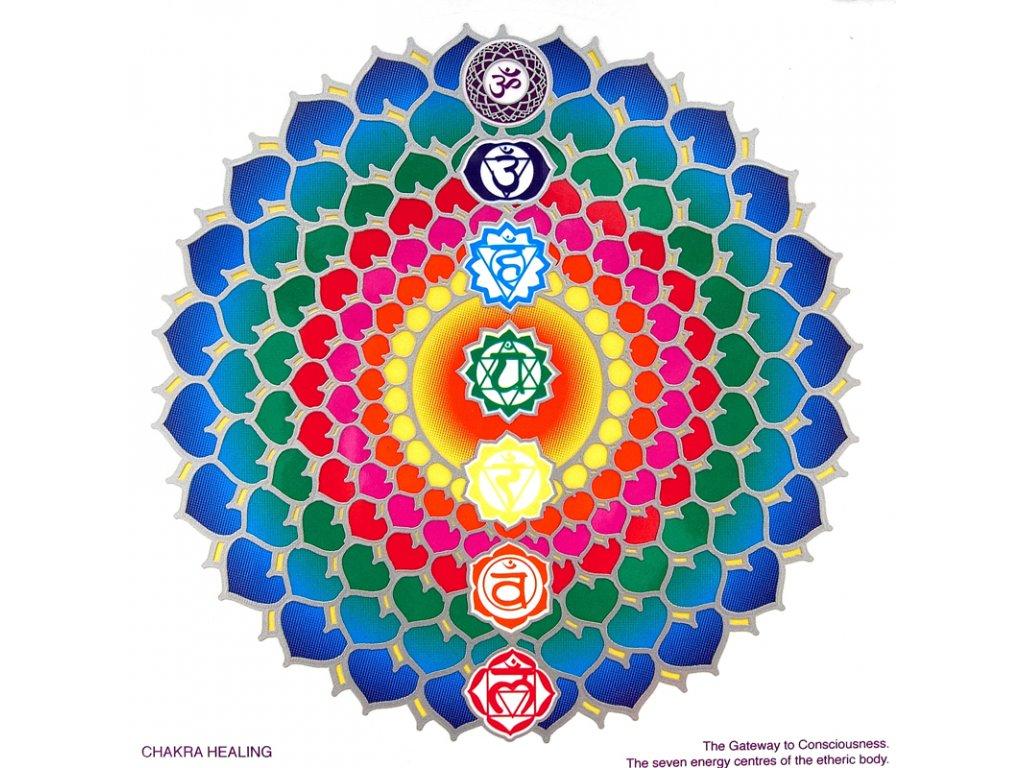 Mandala Sunseal V Chakra Healing
