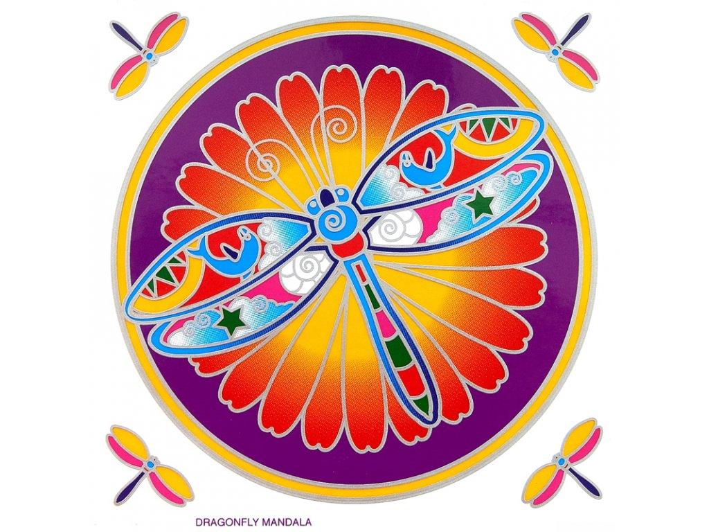 Mandala Sunseal V Dragonfly Mandala