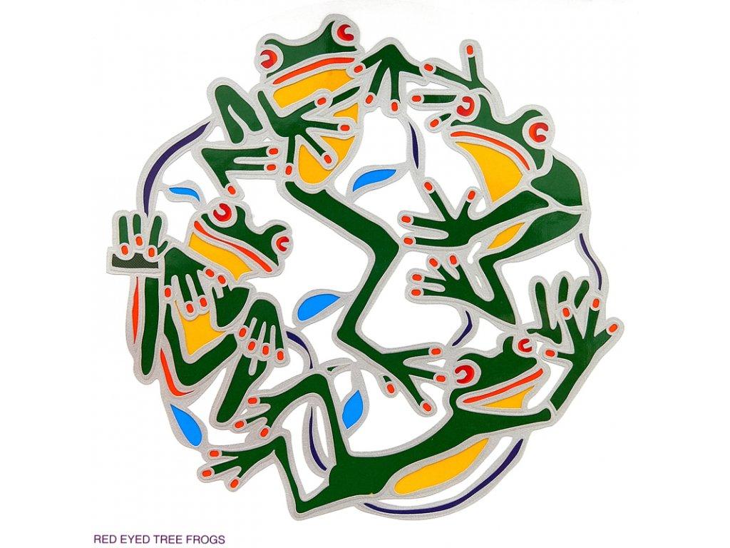 Mandala Sunseal V Red-Eyed Tree Frog V2