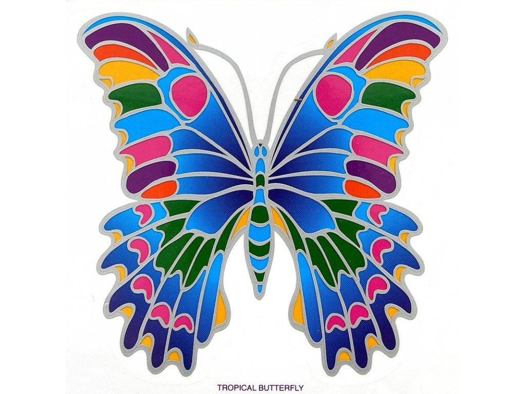 Mandala Sunseal V Tropical Butterfly