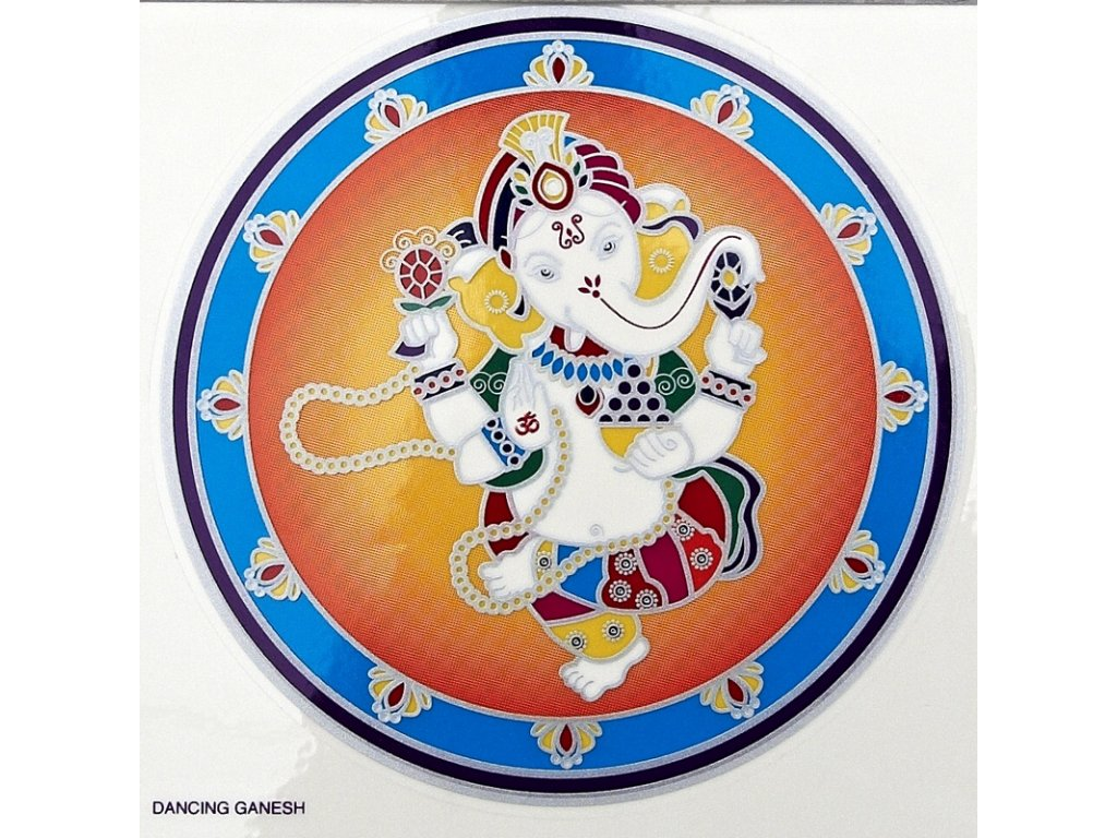 Mandala Sunseal V Dancing Ganesh