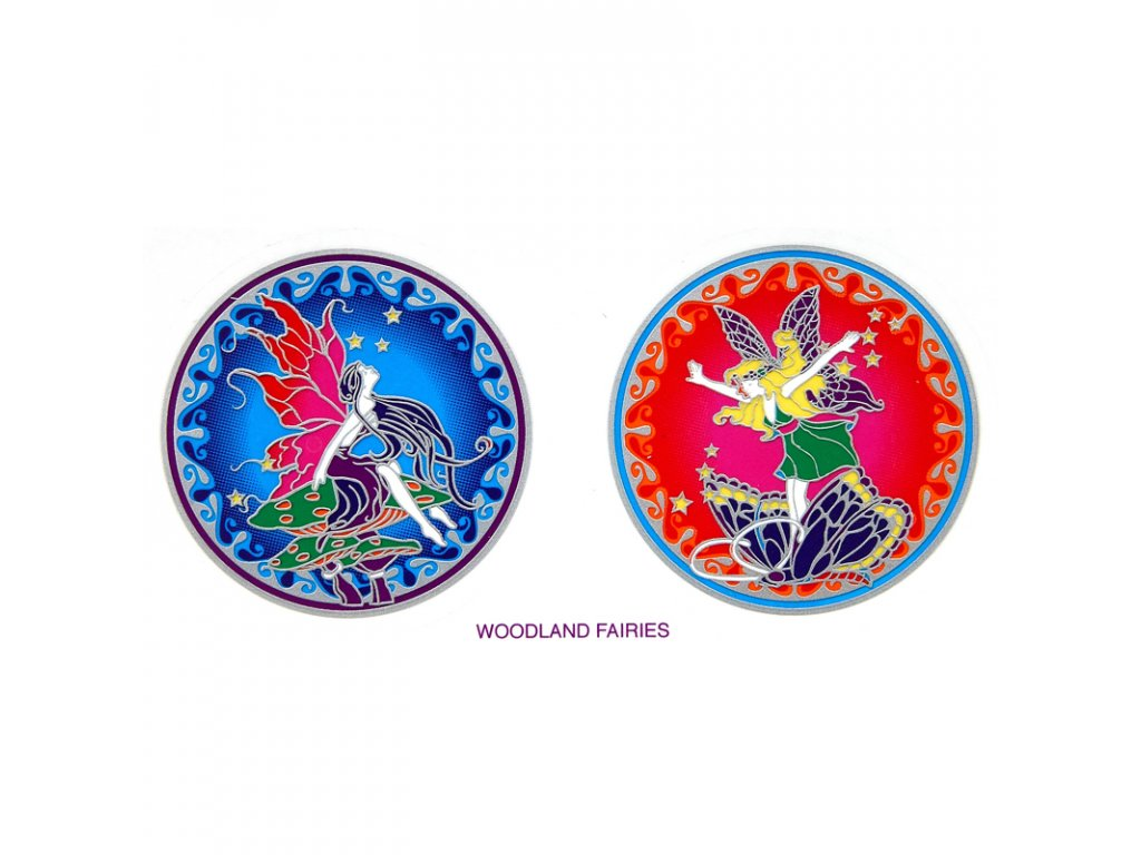 Mandala Sunlight M Woodland Fairies