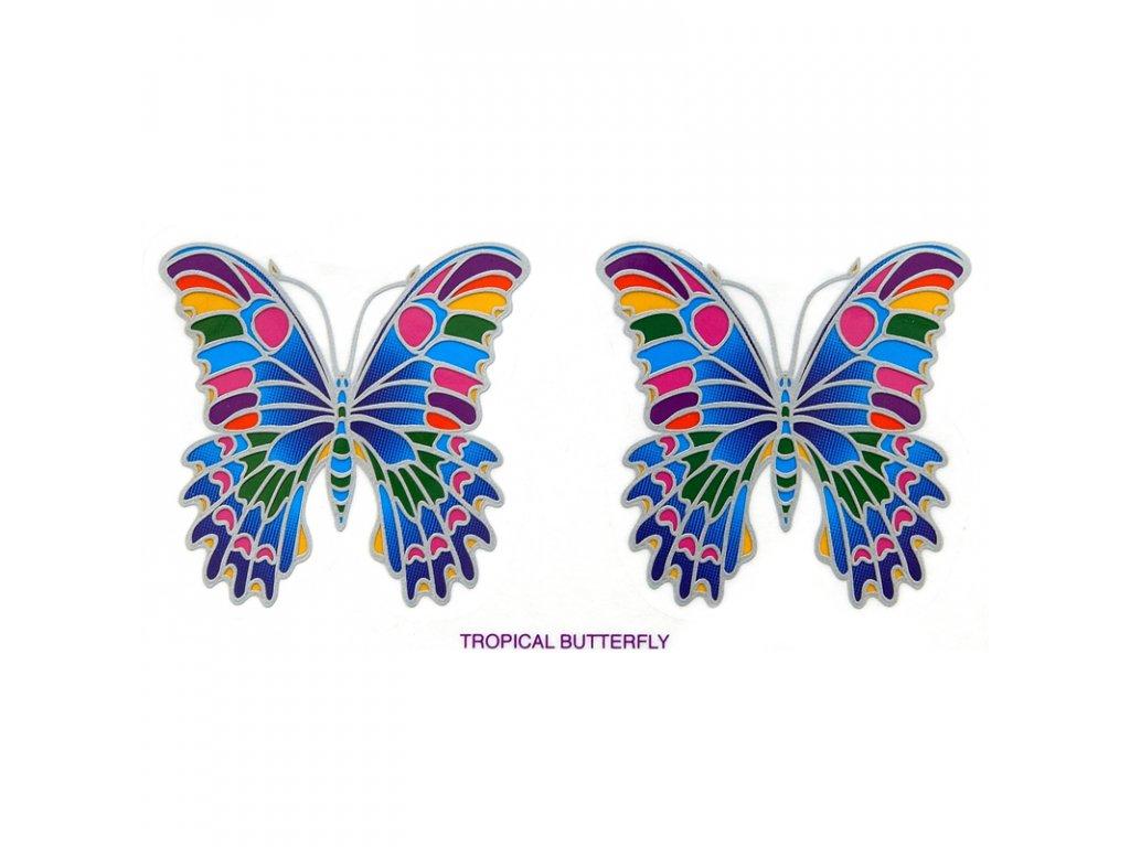 Mandala Sunlight M Tropical Butterfly