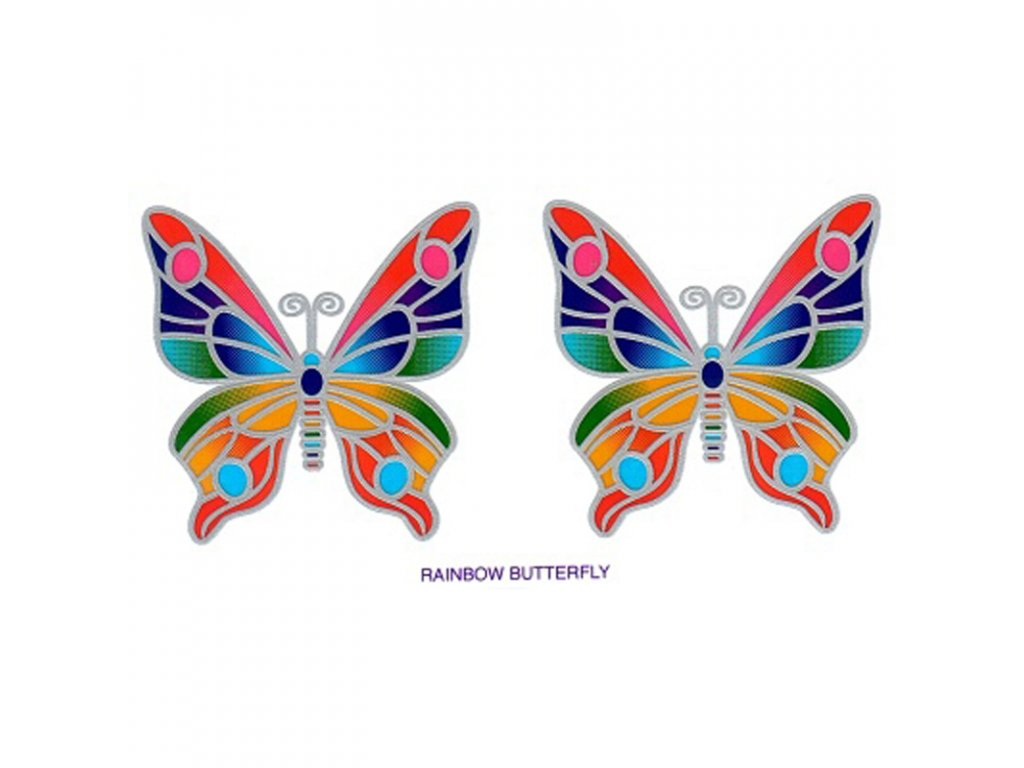 Mandala Sunlight M Rainbow Butterfly