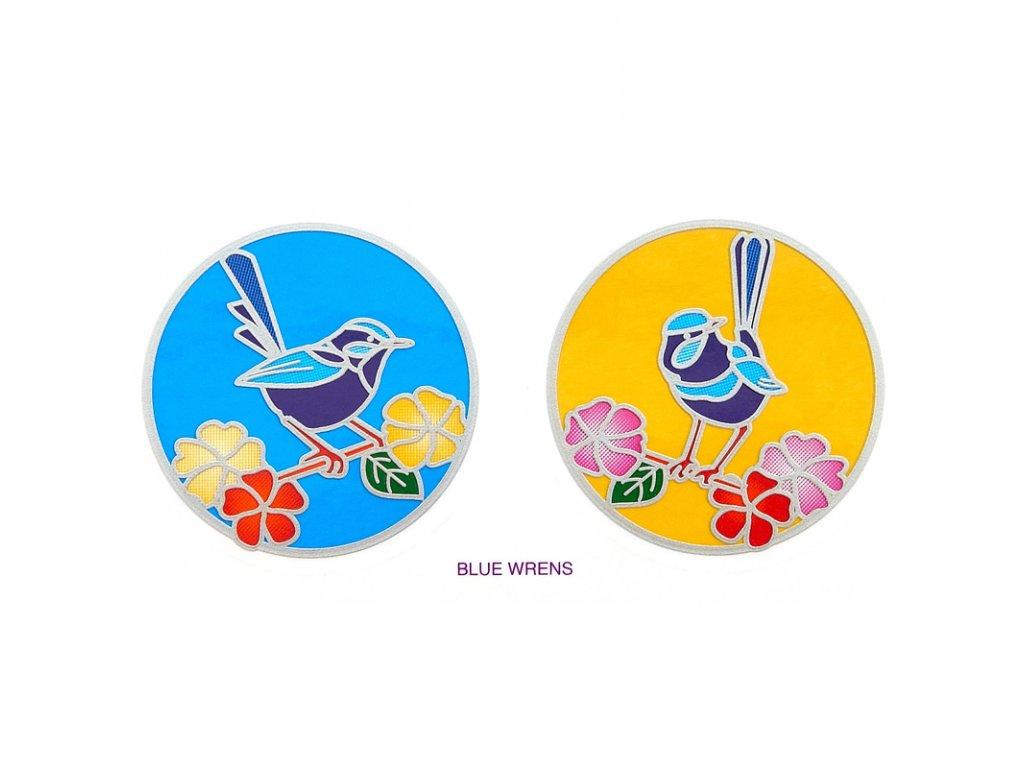 Mandala Sunlight M Blue Wren
