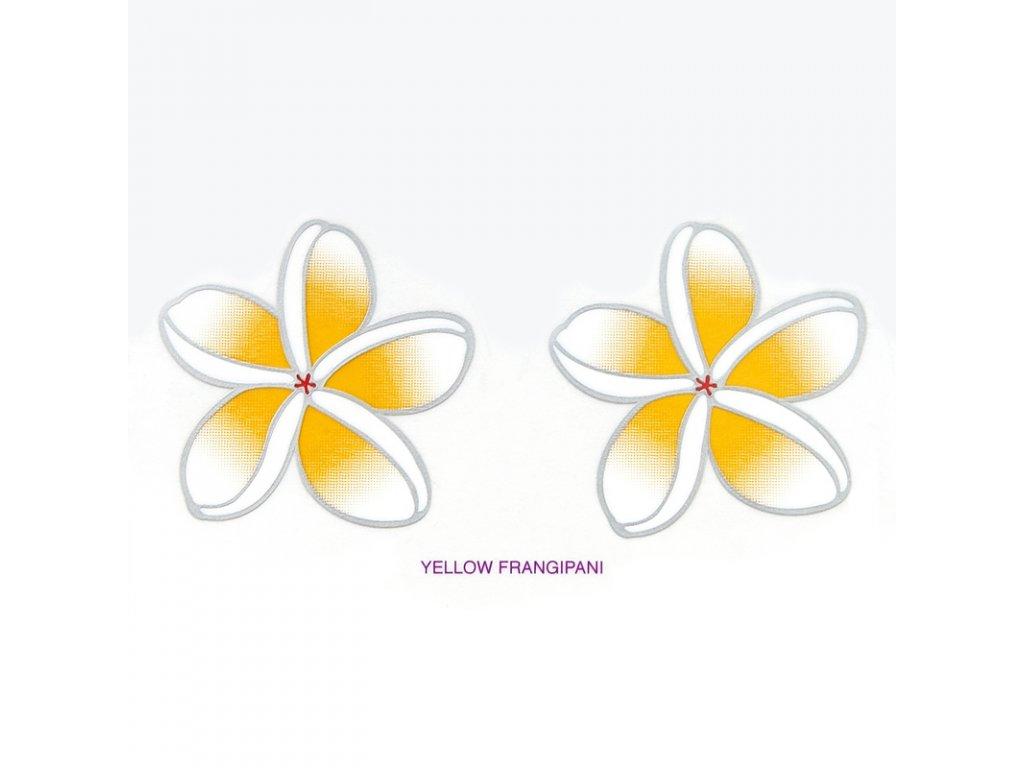 Mandala Sunlight M Frangipani Yellow