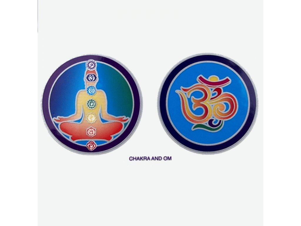 Mandala Sunlight M Chakra and Om