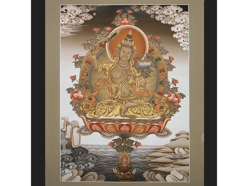 Mandala - Thanka - Manjushree 50x67cm