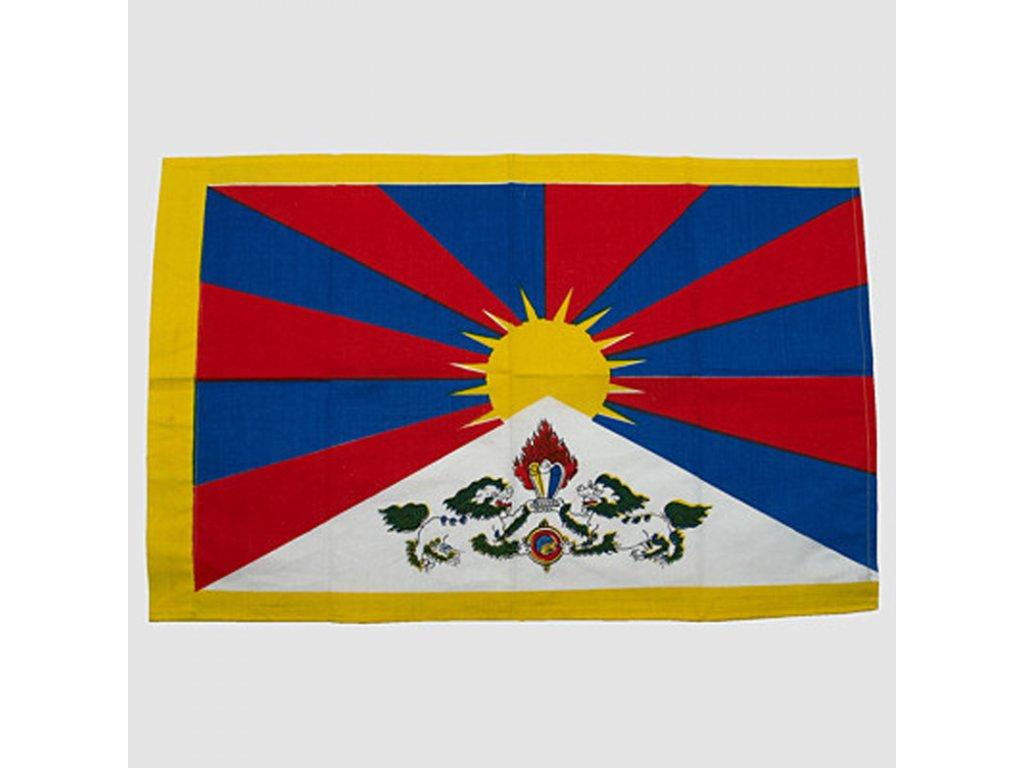 Tibetská vlajka 105 x 140 cm
