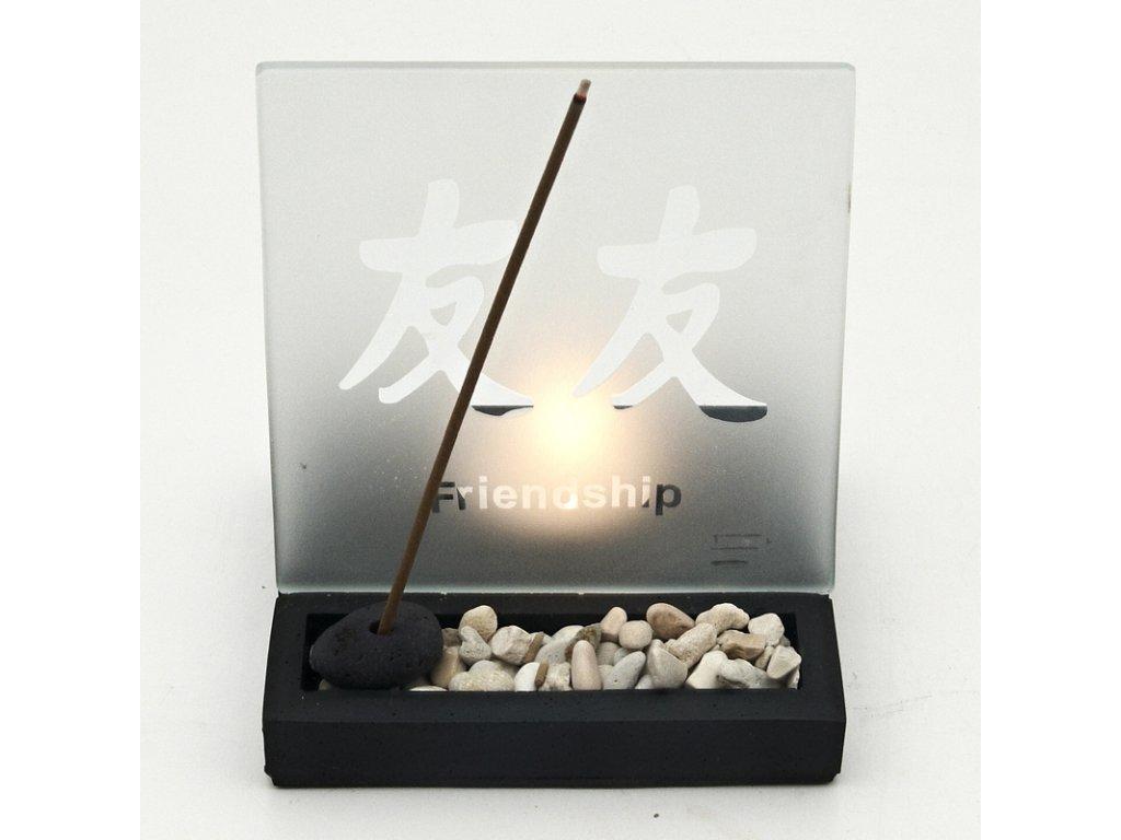 Zenová světelná zahrádka Friendship