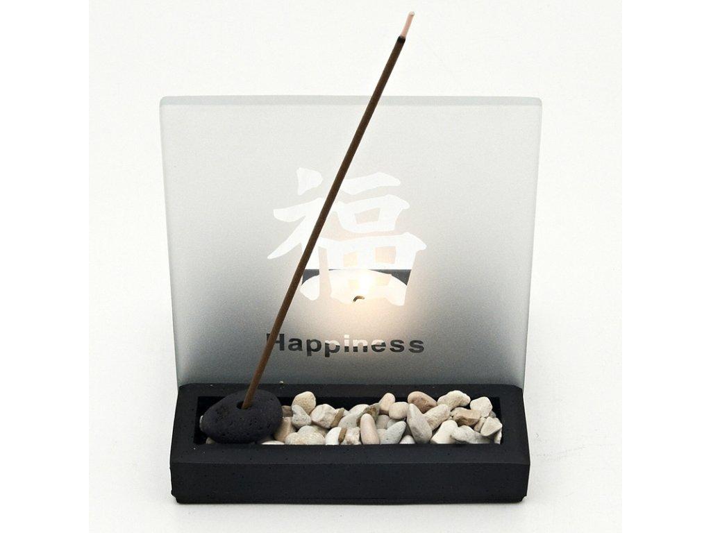 Zenová světelná zahrádka Happiness