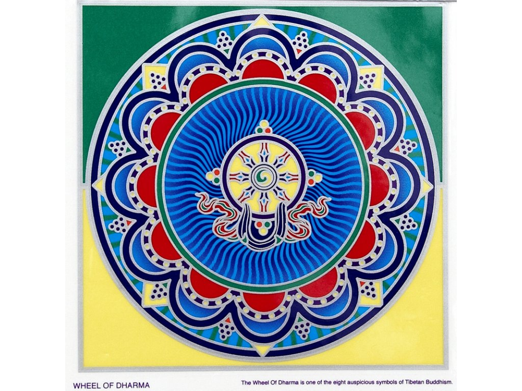 Mandala Sunseal V Wheel of Dharma