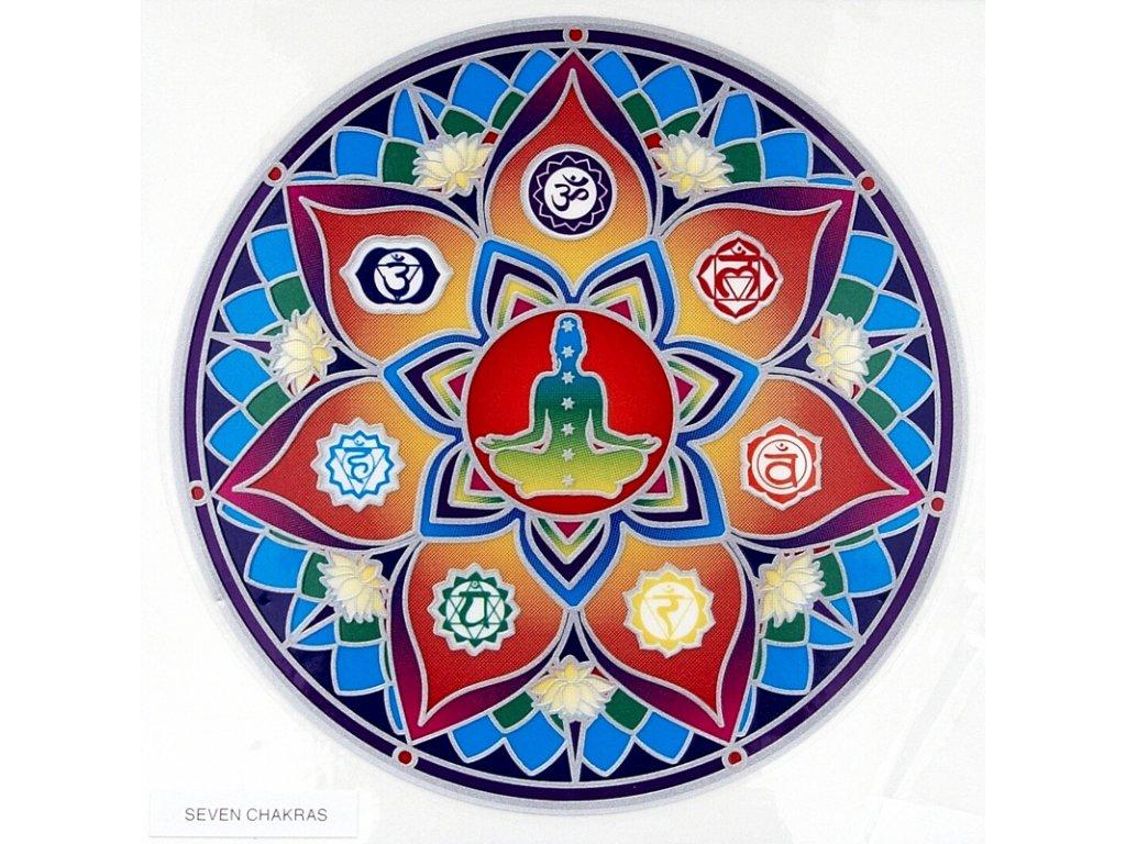 Mandala Sunseal V Seven Chakras