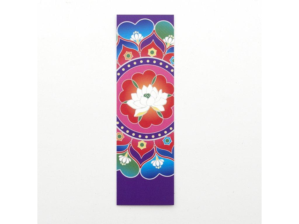 Záložka do knížky Buddhist Lotus Heart
